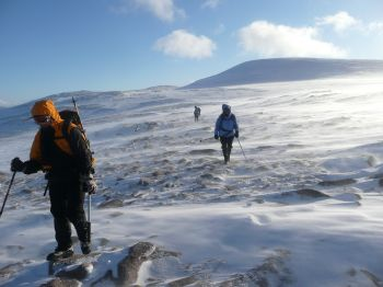 February in the Cairngorms