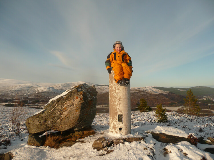 spring in the Cairngorms