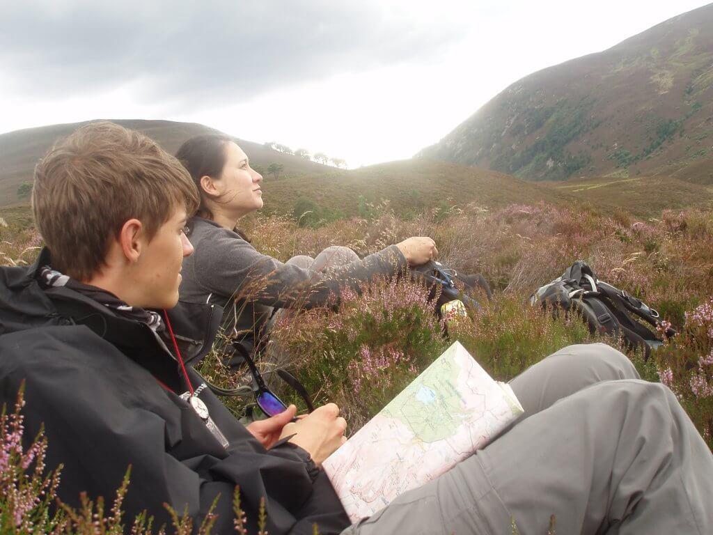 mountain navigation course