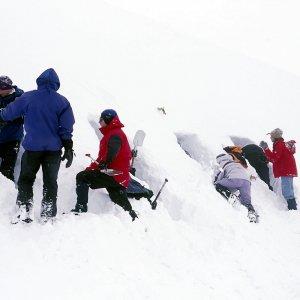 winter snowhole