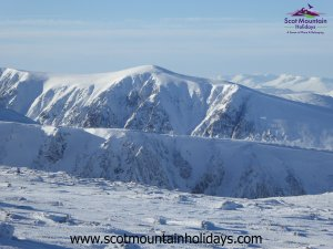 winter Cairngorms Scotland