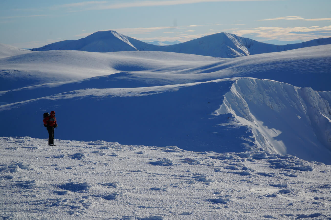 winter in the Cairngorms