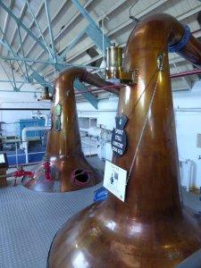 Scottish whisky distillery