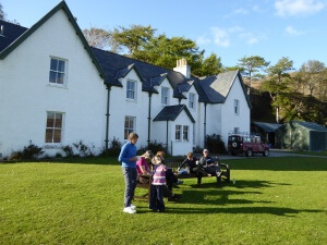Our accommodation in Knoydart