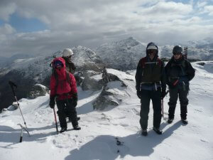 winter walking expedition