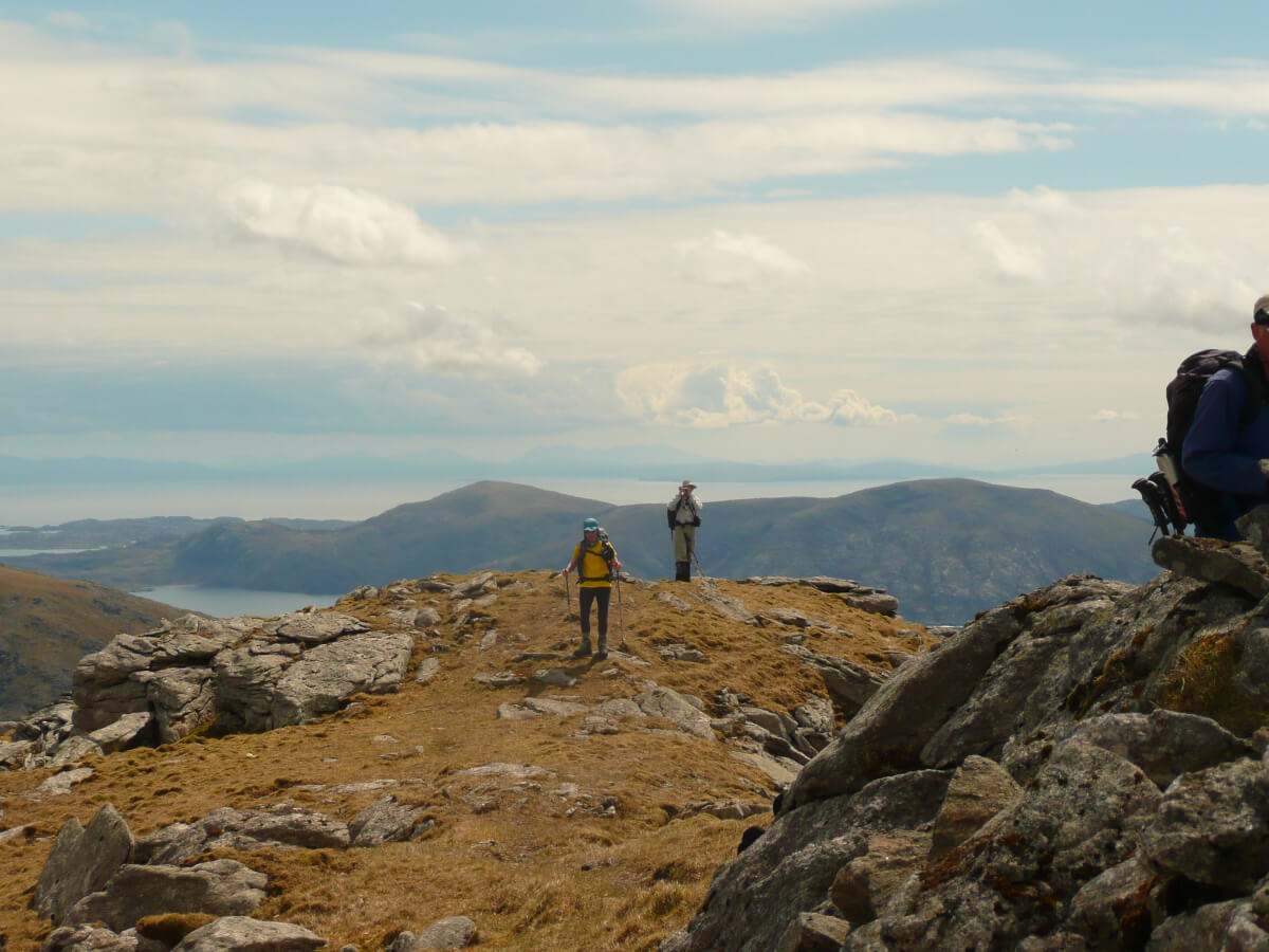 hiking Hebrides