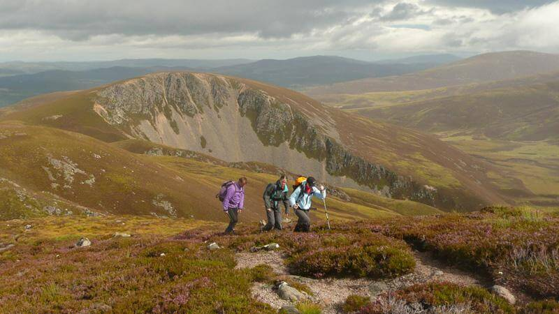 Guided hiking in Scotland