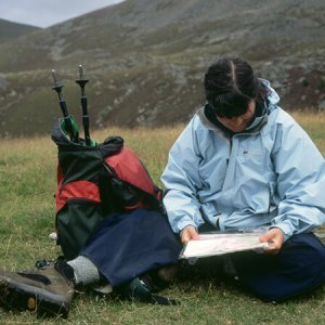 mountain navigation course, Highlands of Scotland