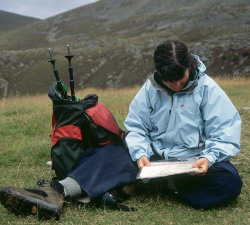 mountain navigation course, Highlands of Scotland