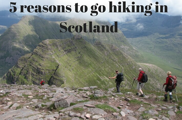 A hiking holiday in Scotland