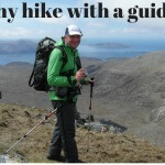 walking with a guide