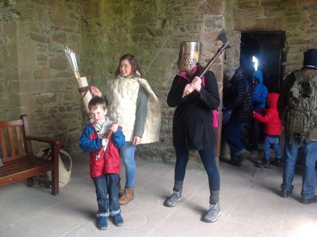 Dressing up for kids in castles