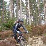 Cycling in the Cairngorms