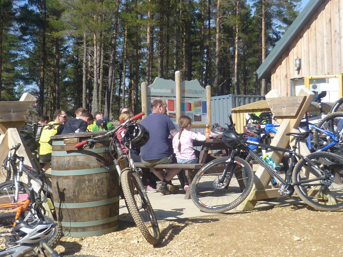 Top cafes in the Cairngorms