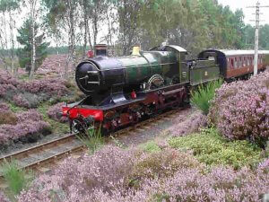 Steam railway, Scotland