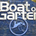 Boat of Garten welcome sign.
