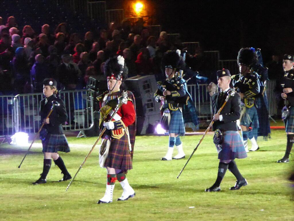 Scotland, famous for ... bagpipes and haggis
