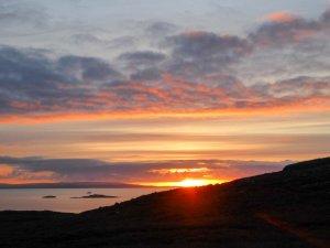 autumn sunset, Assynt (Scotland)