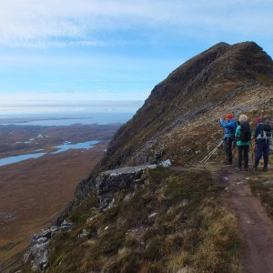 HIking in Scotland (Assynt)