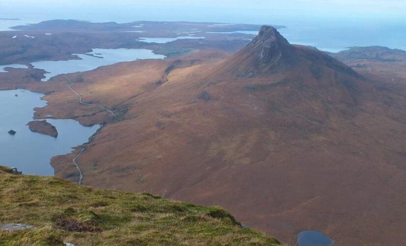 lochs and mountains Scotland