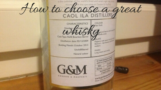 how to choose great whisky