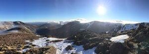 Guided winter walking in Scotland