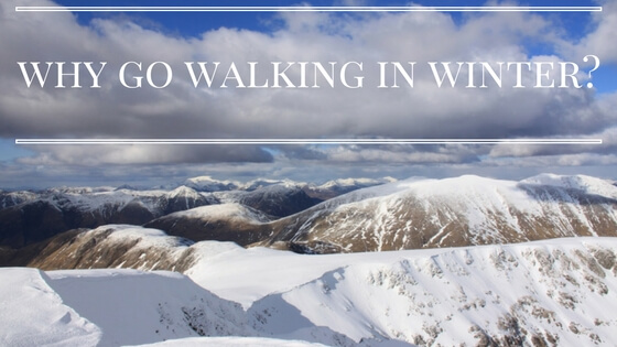 Why go walking in winter