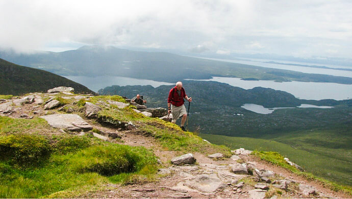 walking holidays scotland