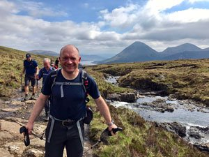 choosing a walk in Scotland