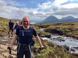 choosing a walk in Scotland