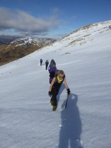 glencoe winter walking