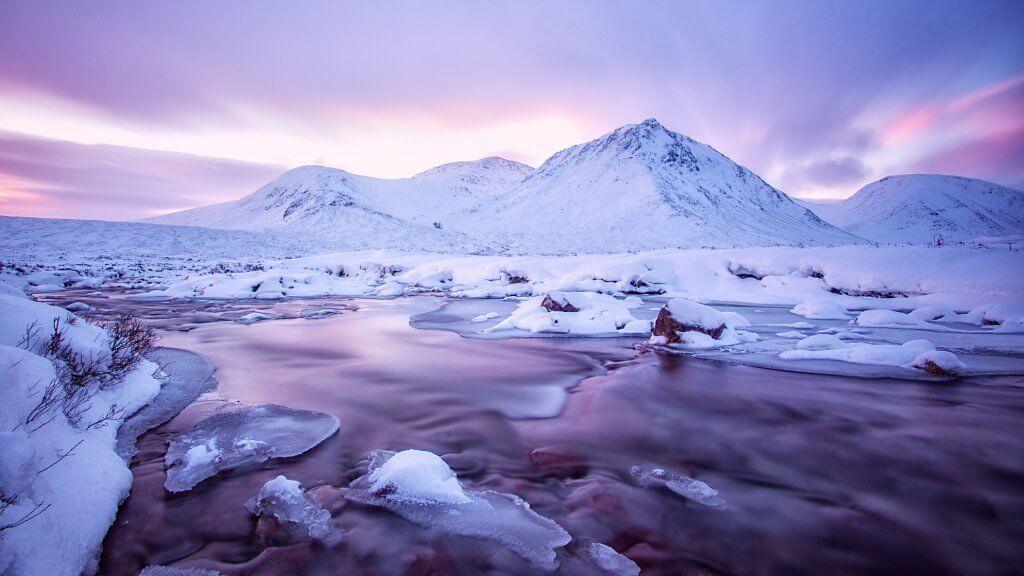 Glen Coe Winter Munros