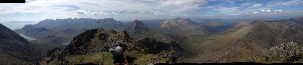 Cuillin mountains Skye