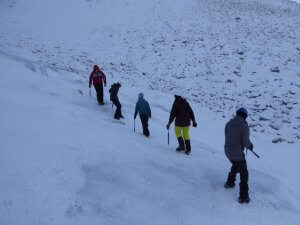 Winter skills in the Cairngorms National park