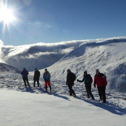 winter munro walking