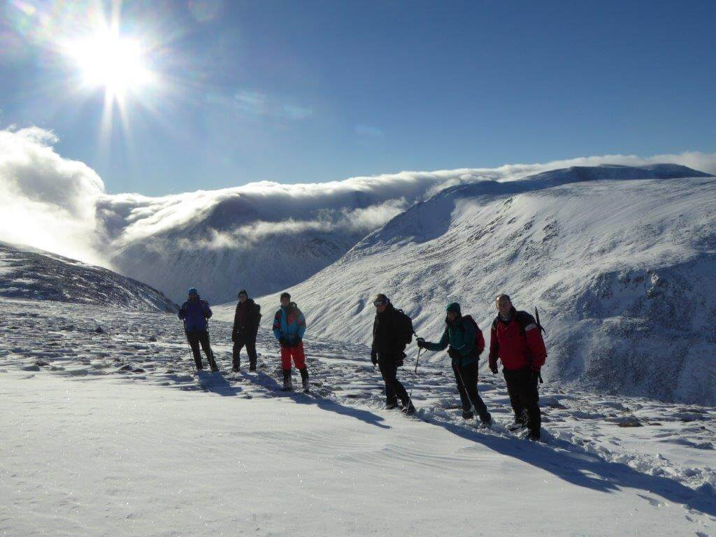 winter munro walking
