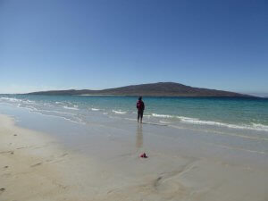 walking in the Hebrides