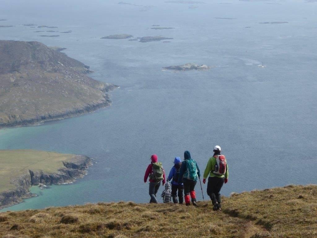 Hebridean hiking