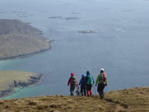 Hebridean hiking