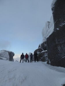 Cairngorms winter walking January 2018
