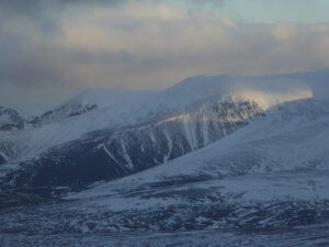 Guided winter walking (Cairngorms)