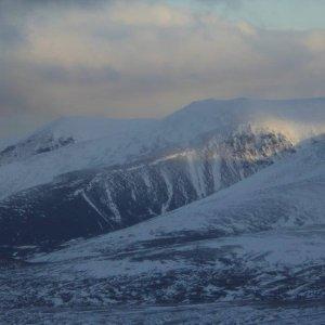 winter walking Cairngorms