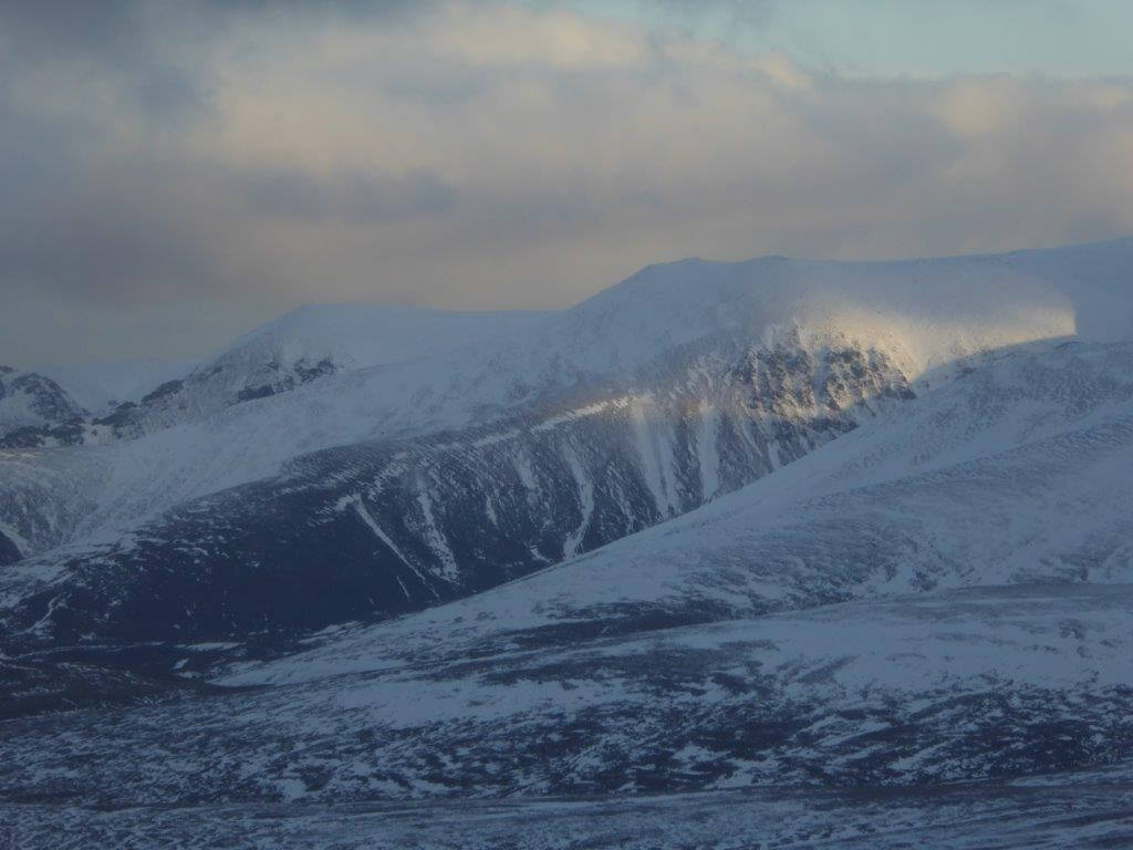 winter walking Cairngorms
