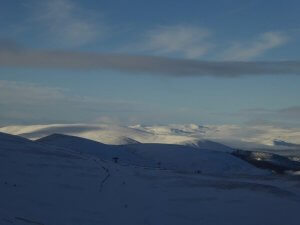 Winter walking holiday and courses in the Highlands of Scotland