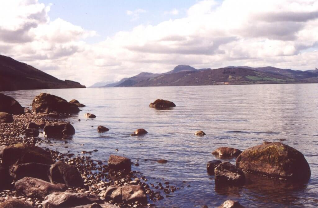 south loch ness path