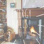 homemade energy balls