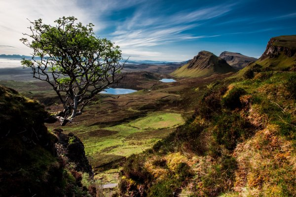 hiking on skye