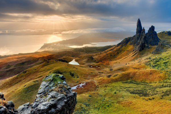 hiking on the isle of Skye