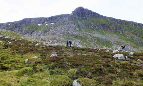 guided walking, Scotland