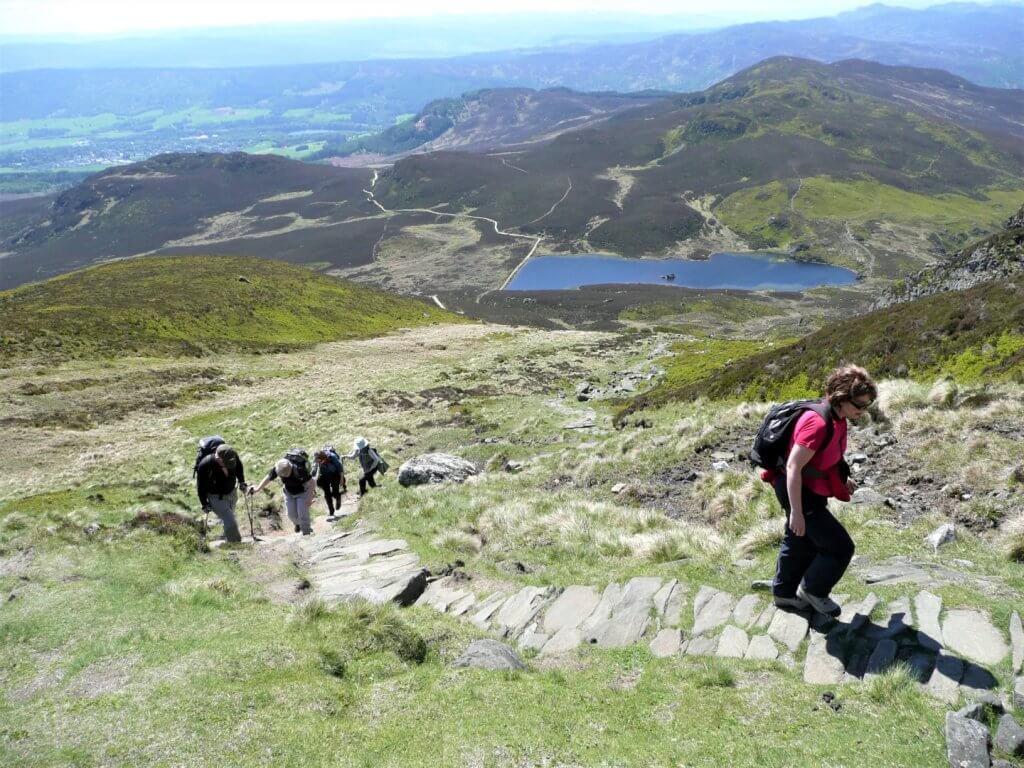 Loch Ness hiking
